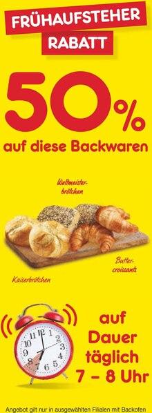 Backwaren im aktuellen Netto Marken-Discount Prospekt für €