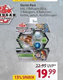 Spielwaren von BAKUGAN im aktuellen Rossmann Prospekt für 19.99€