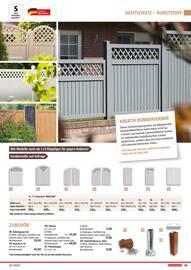 Aktueller BAUHAUS Prospekt, Gartengestaltung/Metallzaun, Seite 95