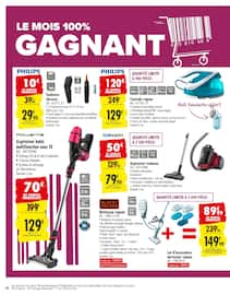 Catalogue Carrefour en cours, Le mois 100% gagnant, Page 60