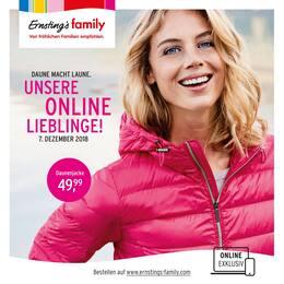 Ernsting's family, Unsere Online Lieblinge! für Stuttgart