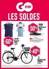 Catalogue Go Sport en cours, Les soldes, Page 1