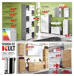 Aktueller Möbel Kraft Prospekt, Lustvoll kochen! KRAFTvoll sparen! , Seite 24