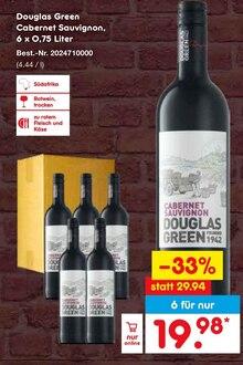 Alkoholische Getraenke von Douglas Green im aktuellen Netto Marken-Discount Prospekt für 19.98€