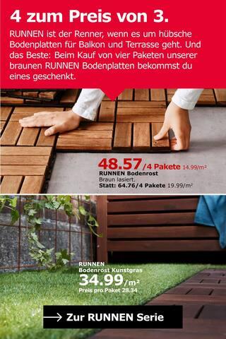 Aktueller IKEA Prospekt, Auf ins Grüne! Und Bunte., Seite 7