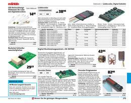 Aktueller Conrad Electronic Prospekt, Modellbahn 2020/21, Seite 275