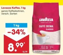 Kaffee von Lavazza im aktuellen Netto Marken-Discount Prospekt für 8.99€
