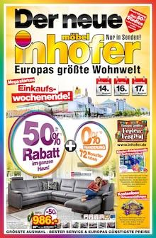 Möbel Inhofer, EUROPAS GRÖSSTE WOHNWELT für Alteglofsheim