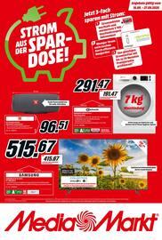 Aktueller MediaMarkt Prospekt, STROM AUS DER SPARDOSE!, Seite 1