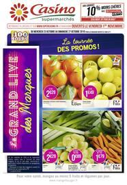 Catalogue Casino Supermarchés en cours, La tournée des promos !, Page 1