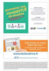 Catalogue E.Leclerc en cours, Résolution 2019 continuer à défendre votre quotidien, Page 2