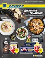 Aktueller E center Prospekt, Kulinarische Europareise? Unsere Einkaufswagen stehen bereit!, Seite 1