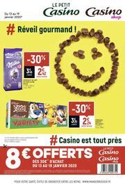 Catalogue Casino Shop en cours, # Réveil gourmand !, Page 1