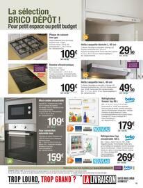 Catalogue Brico Dépôt en cours, Votre cuisine en stock à prix dépôt, Page 73