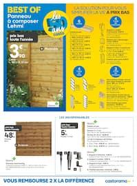Catalogue Castorama en cours, Les nouveautés jardin sont arrivées , Page 7