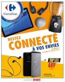 Catalogue Carrefour en cours, Restez connecté à vos envies, Page 1