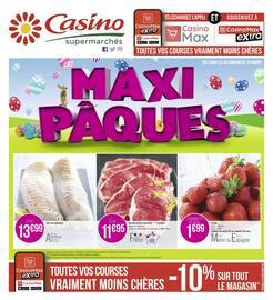 Catalogue Casino Supermarchés en cours, Maxi Pâques, Page 1