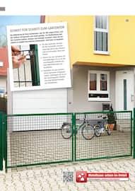Aktueller BAUHAUS Prospekt, Gartengestaltung/Metallzaun, Seite 138