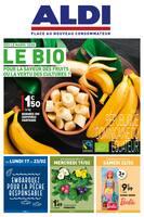 Catalogue Aldi en cours, Le bio: pour la saveur des fruits ou la vertu des cultures ?, Page 1