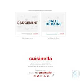 Catalogue Cuisinella en cours, Cuisine collection 2019, Page 154