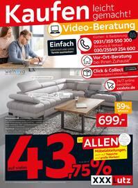 Aktueller XXXLutz Möbelhäuser Prospekt, Kaufen leicht gemacht!, Seite 1