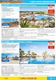 Aktueller Netto Marken-Discount Prospekt, Reisen … zu Netto-Preisen!, Seite 21