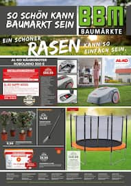 Aktueller BBM Baumarkt Prospekt, Ein schöner Rasen kann so einfach sein., Seite 1