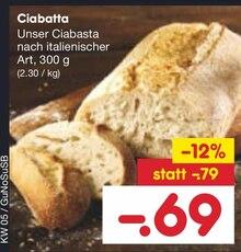 Brot im aktuellen Netto Marken-Discount Prospekt für 0.69€