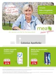 mea - meine apotheke, Unsere März-Angebote  für Köln