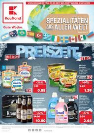 Kaufland, Die neue Preiszeit ist da! für Duisburg