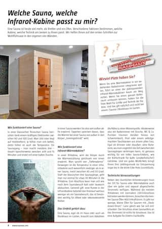 Aktueller BAUHAUS Prospekt, Saunen & Wärmekabinen, Seite 4