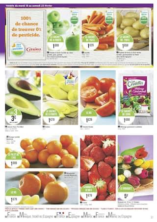 Catalogue Géant Casino en cours, Les jours méga mix, Page 17