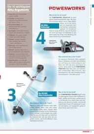 Aktueller BAUHAUS Prospekt, POWERWORKS GARTENMASCHINEN, Seite 11