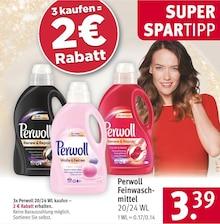 Waschmittel von Perwoll im aktuellen Rossmann Prospekt für 3.39€
