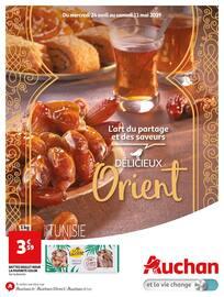 Catalogue Auchan en cours, L'art du partage et des saveurs, Page 1