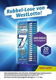Aktueller Westlotto Prospekt, Ein bisschen reich von jetzt auf gleich!, Seite 1
