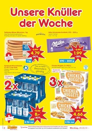 Aktueller Netto Marken-Discount Prospekt, DAS WERDEN GÜNSTIGE URLAUBSTAGE, Seite 2