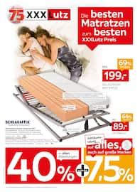 Aktueller XXXLutz Möbelhäuser Prospekt, Die besten Matratzen zum XXXL-Lutz Preis, Seite 1