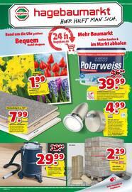 Aktueller hagebaumarkt Prospekt, Hier hilft man sich., Seite 1