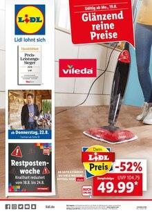 Lidl, GLÄNZEND REINE PREISE für Hannover