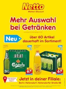 Netto Marken-Discount Prospekt Mehr Auswahl  bei Getränken