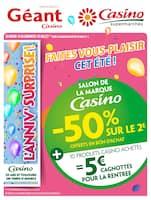 Catalogue Casino Supermarchés en cours, Cahier salon de la marque Casino, Page 1