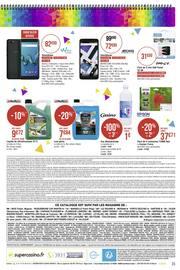 Catalogue Casino Supermarchés en cours, Direction la rentrée… Par ici les promos !, Page 35
