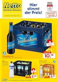Aktueller Netto Getränke-Markt Prospekt, Hier stimmt der Preis!, Seite 1