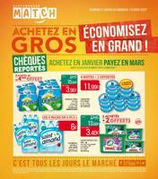 Catalogue Supermarchés Match en cours, Achetez en gros, économisez en grand !, Page 1