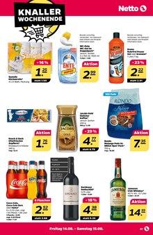 Alkoholische Getraenke im Netto mit dem Scottie Prospekt Stars der Woche auf S. 26