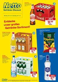 Aktueller Netto Getränke-Markt Prospekt, Entdecke unser großes Getränke-Sortiment!, Seite 1