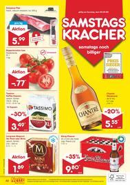 Aktueller Netto Marken-Discount Prospekt, GARANTIERT NIRGENDWO GÜNSTIGER, Seite 40