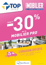 Catalogue Top Office en cours, Le mois du mobilier, Page 1
