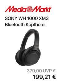 Aktueller MediaMarkt Prospekt, SONY Bluetooth Kopfhörer, Seite 1
